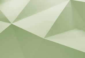 Green coloured folded paper graphic