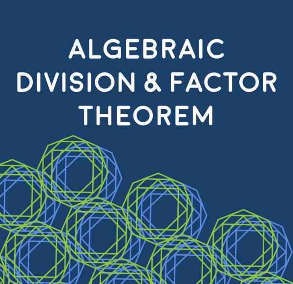 Algebraic Division and Factor Theorem
